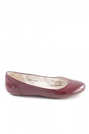 Esprit Lackballerinas rot Casual-Look