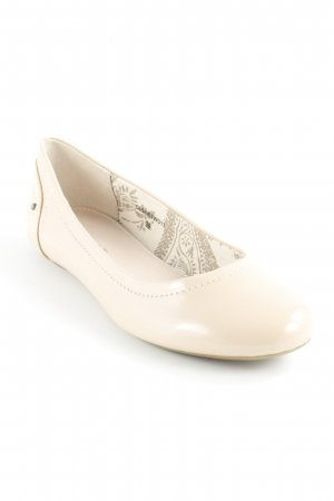 Esprit Patent Leather Ballerinas pink simple style