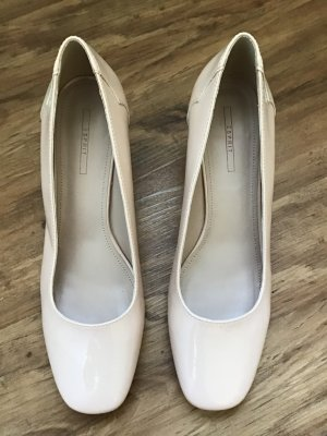 Esprit Lackleder Pumps rose Gr. 42 neu