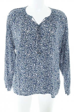 Esprit Langarm-Bluse Allover-Druck Casual-Look