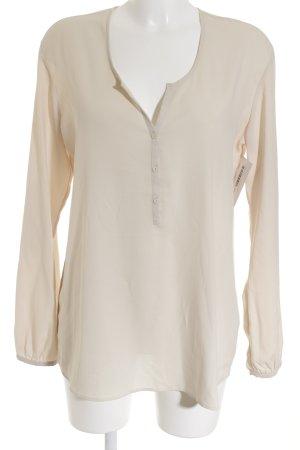 Esprit Langarm-Bluse beige Elegant
