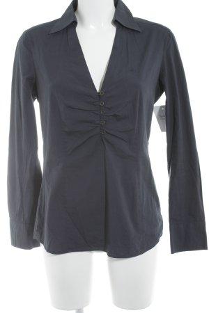 Esprit Langarm-Bluse dunkelblau Business-Look