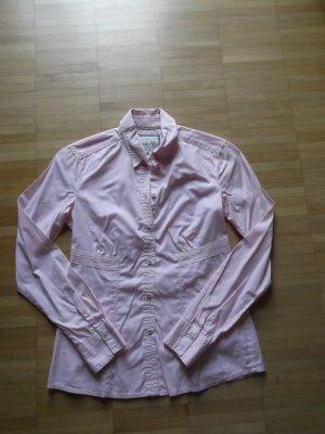 Esprit Langarm Bluse Gr.34 Rosa Talliert Fein Schick Top-Zustand