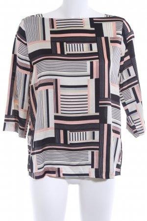 Esprit Langarm-Bluse grafisches Muster Casual-Look