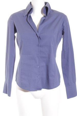 Esprit Langarm-Bluse graublau klassischer Stil