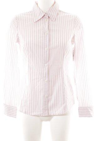 Esprit Langarm-Bluse hellrosa-rosa Streifenmuster Casual-Look