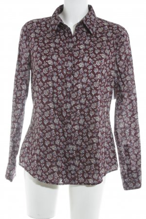 Esprit Langarm-Bluse Paisleymuster Casual-Look