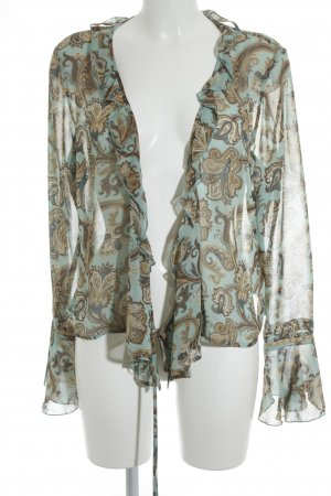 Esprit Langarm-Bluse Paisleymuster Country-Look