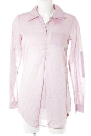 Esprit Langarm-Bluse rosa Casual-Look