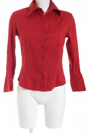Esprit Langarm-Bluse rot Business-Look