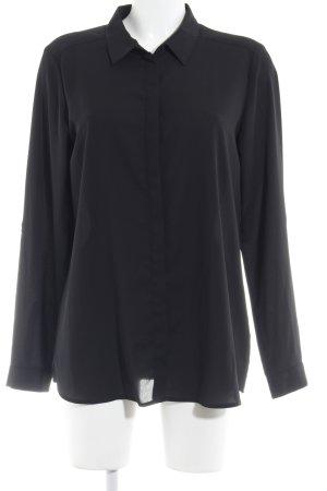 Esprit Langarm-Bluse schwarz Business-Look