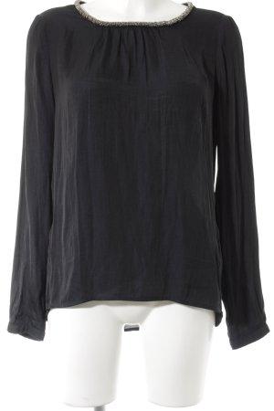 Esprit Langarm-Bluse schwarz Elegant