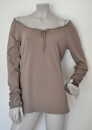 Esprit Carmen Shirt grey brown