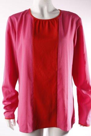 Esprit Langarmbluse pink-rot