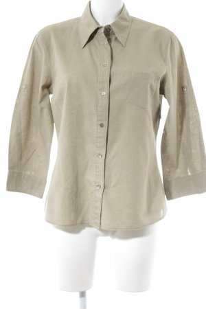Esprit Langarmhemd beige Casual-Look