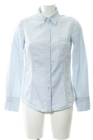 Esprit Langarmhemd himmelblau Casual-Look