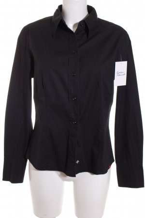 Esprit Long Sleeve Shirt black classic style