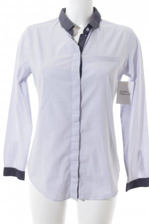 Esprit Langarmhemd Streifenmuster Casual-Look