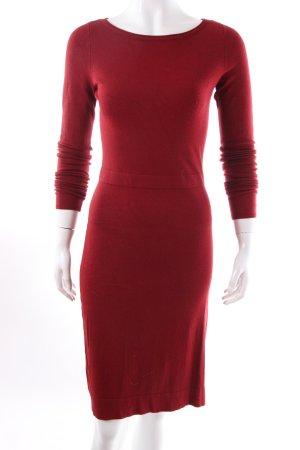 Esprit Robe pull rouge carmin