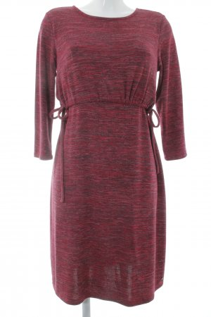 Esprit Longsleeve Dress dark red flecked casual look