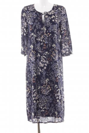 Esprit Langarmkleid florales Muster Country-Look
