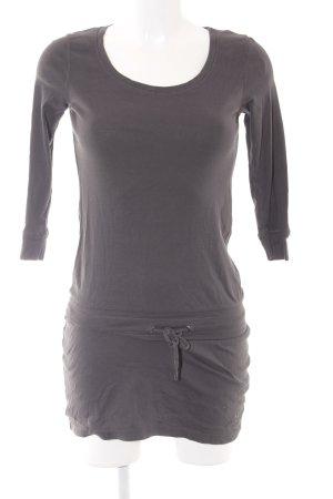 Esprit Langarmkleid grau schlichter Stil