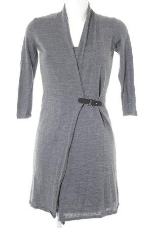 Esprit Langarmkleid grau-schwarz Casual-Look