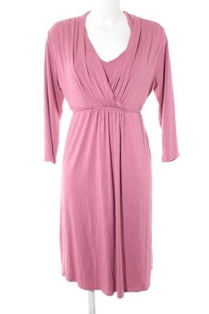 Esprit Langarmkleid rosa Casual-Look