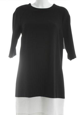 Esprit Langarmkleid schwarz-weiß Elegant