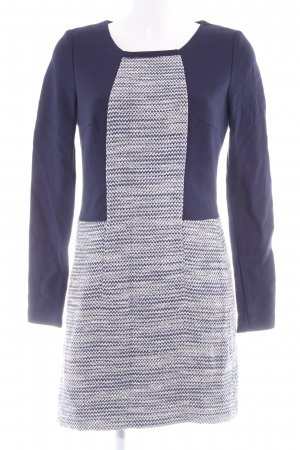 Esprit Langarmkleid Zackenmuster Business-Look