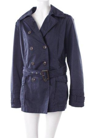 Esprit Lange Jacke dunkelblau