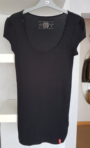 Esprit Langes T-Shirt in schwarz XS / S Longtop