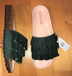 Esprit Heel Pantolettes multicolored leather