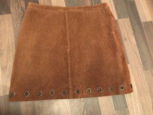Esprit Leather Skirt multicolored