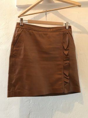 Esprit Leather Skirt multicolored