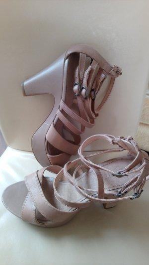 Edc Esprit Platform High-Heeled Sandal nude