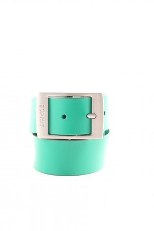 Esprit Leather Belt turquoise casual look