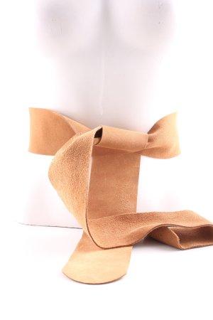 Esprit Cintura di pelle color carne stile casual