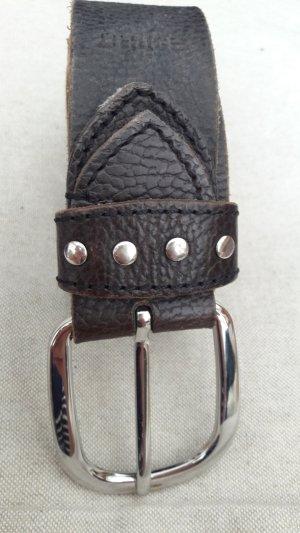 ESPRIT Ledergürtel schwarz mit Nieten