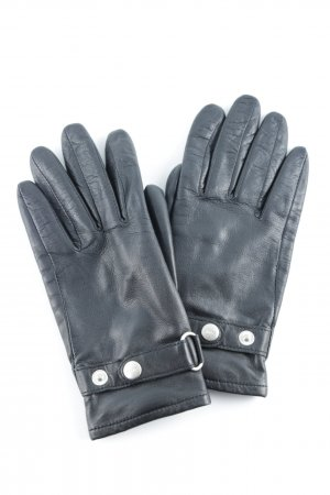Esprit Leather Gloves black classic style