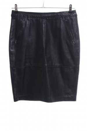Esprit Leather Skirt black casual look