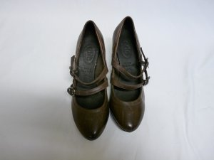Esprit Mary Janes light brown-brown leather