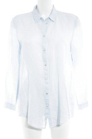 Esprit Blouse en lin bleu azur style décontracté
