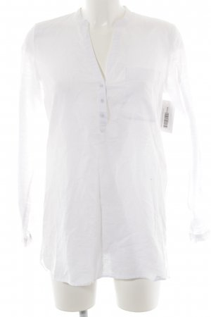 Esprit Linnen blouse wit casual uitstraling