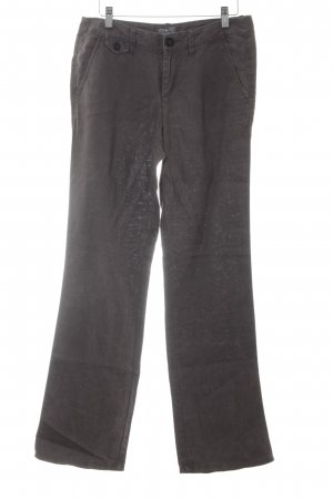 Esprit Linen Pants grey brown casual look