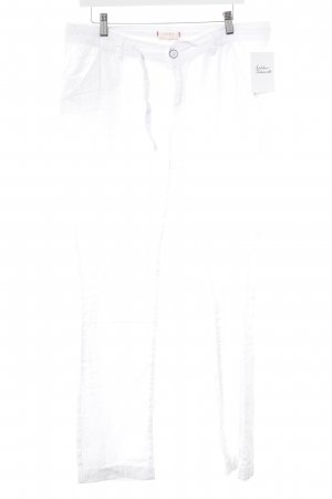 Esprit Linen Pants white casual look