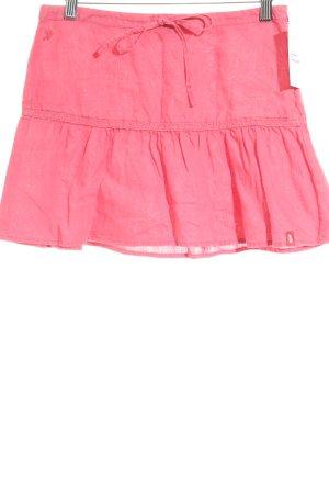 Esprit Leinenrock pink Casual-Look
