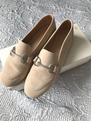 Esprit Loafer Ballerinas beige horsebit