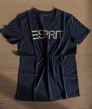 ESPRIT Logo kurzem T-Shirt  Gr. S