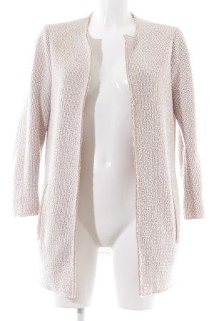 Esprit Long-Blazer pink meliert Casual-Look